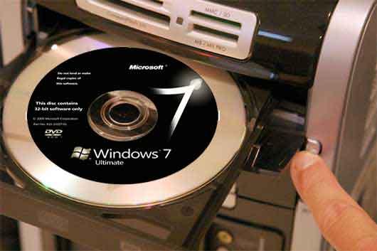 insert-windows7-dvd